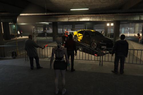 Tuners DLC meets cars Scene on SP [Menyoo]