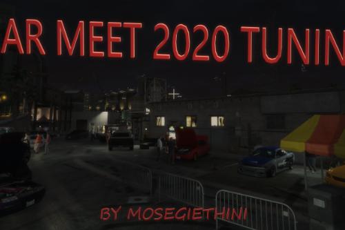 Tuning Car Meet / Show 2020 Menyoo