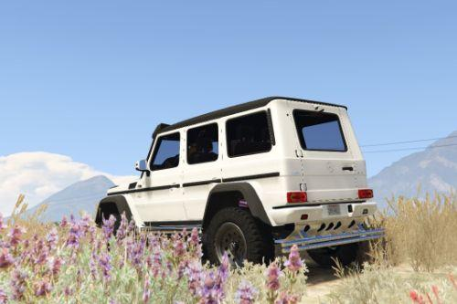 Tuning Fix for Mercedes-Benz Brabus G500 4x4²