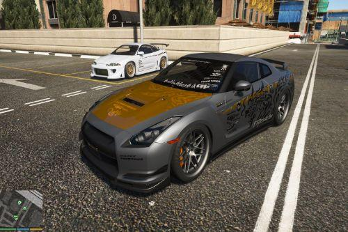Tuning livery for Nissan GT-R35