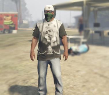 Tupac Shakur (2pac) T-Shirt for Franklin