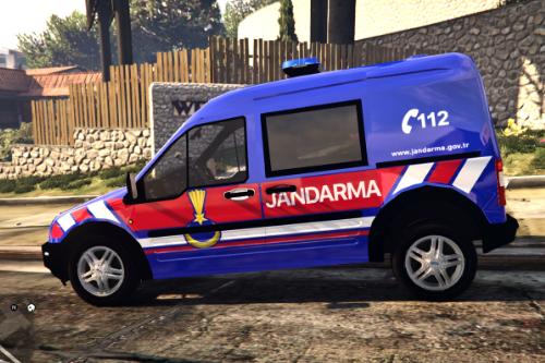 Türk Jandarma - Ford Connect ELS