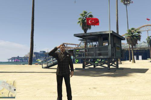 Turkish Flag [FIVEM]& [Singleplayer]