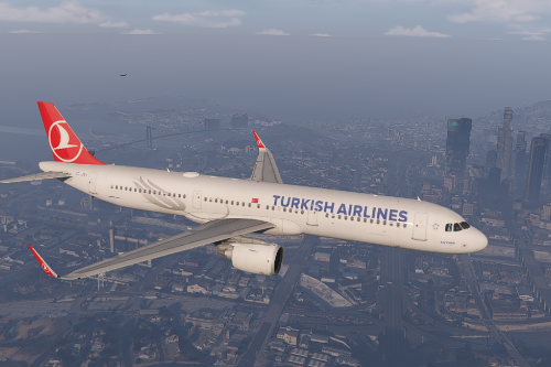 A321neo Turkish Airlines livery