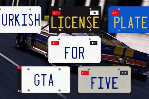 Turkish License Plates [OIV]