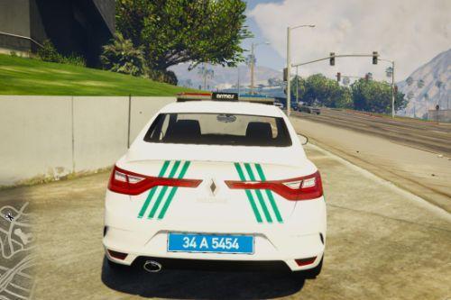 Megan IV Turkish Traffic Police and Gendarmerie Traffic