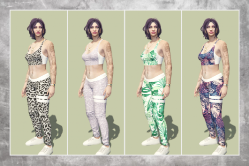 Workout Clothing Pack for MP Female
