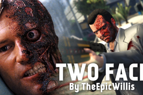 Two Face [Texture Mod]