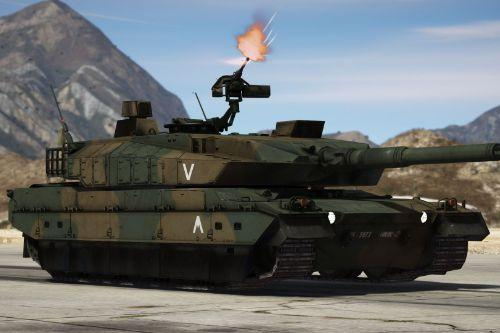 Type 10 Japanese MBT [Add-On | Working Hydraulics]