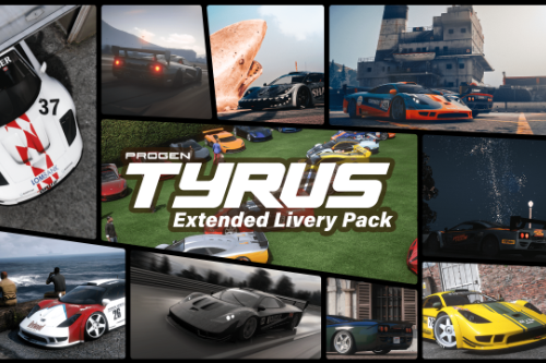 Progen Tyrus Extended Livery Pack