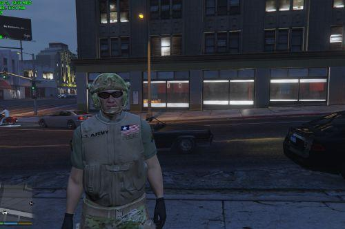L.S. Army Ranger for SWAT Ped
