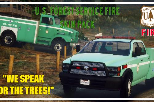 U.S. Forest Service Fire Skins Lore-Friendly
