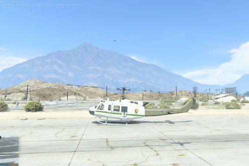 U.S Forest Service UH-1 HUEY
