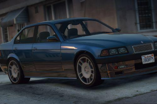Ubermacht Sentinel SG3 Pack [Add-On | Tuning | Wheels | Sounds | LODs | FiveM]