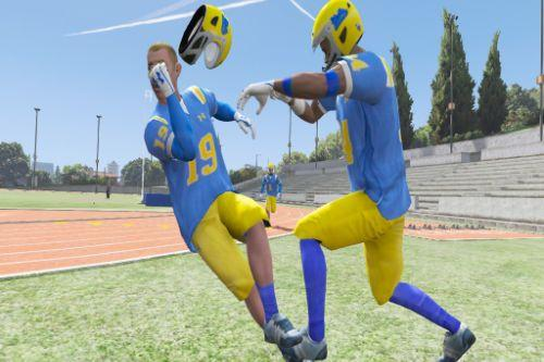 UCLA Football Players & Fighting Style