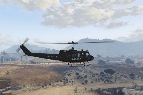UH-1H S.W.A.T - San Andreas -