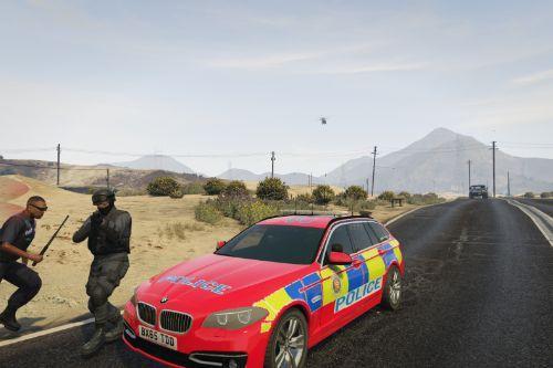 UK Armed Police Vehicle