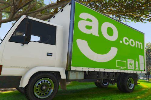 UK British Delivery Vans Skin Pack