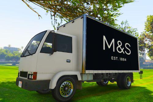 UK British Delivery Vans Skin Pack - (M&S, John Lewis, Waitrose, McDonald's)