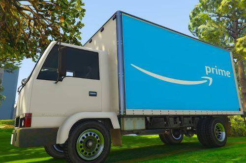 UK British Delivery Vans Skin Pack - (Amazon Prime, DHL, DPD, UPS, UK Mail)