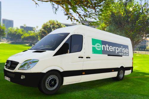 UK British Enterprise Rent-a-car Van Skin