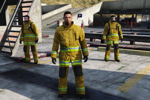 UK Firefighter PPE
