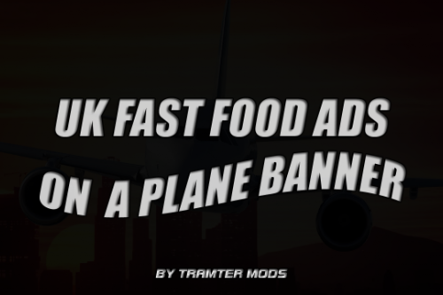 UK Food Brands Plane Banners
