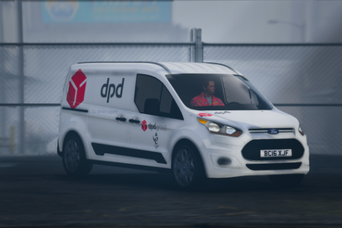 DPD Ford Connect Van [Replace | Livery | Templated]