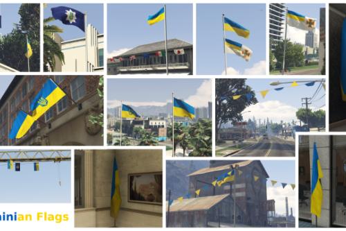 C076e9 ukrainianflags