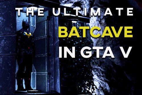 Ultimate Batcave with Robin suit [Map Editor]