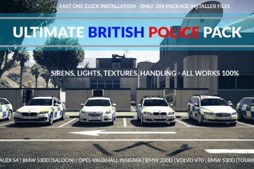Ultimate British Police Pack