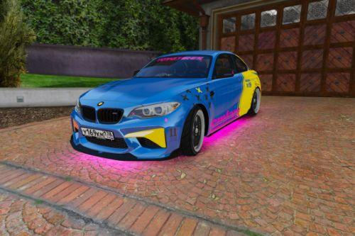 Ultra Realistic Handling for BMW M2 (LCM)