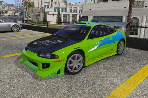 Ultra Realistic Handling for Mitsubishi Eclipse GS 1995 (Fast & Furious)