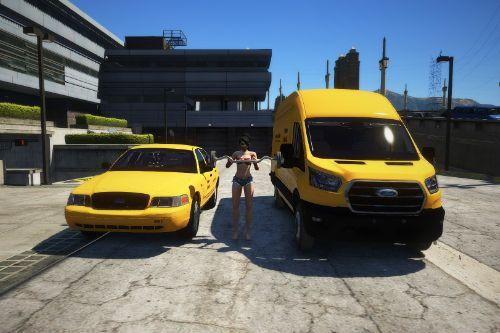 Undercover Police Taxi Pack