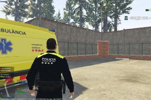 unifome policia local vilassar de mar 2018