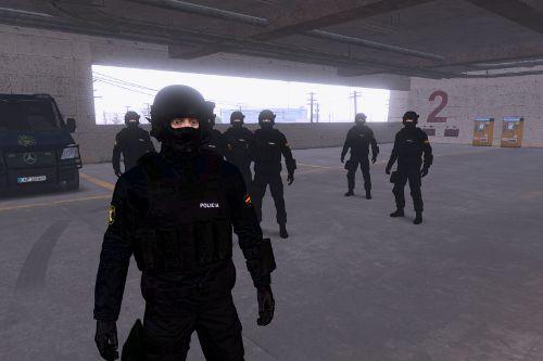 Uniform GEO II - Policia Nacional - CNP (Spanish Police)