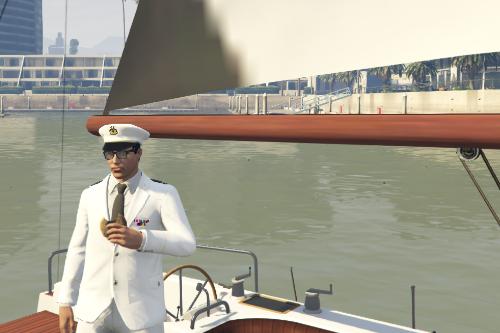 Uniforme marina militare Italiana ammiraglio di squadra