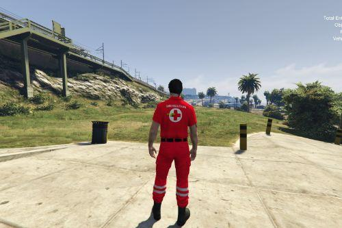 Uniforme Maschile Eup Croce Rossa