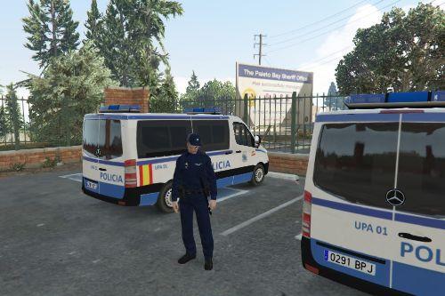 Uniformes Policia autonomica Galicia