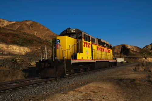 Union Pacific SD40-2 Textures