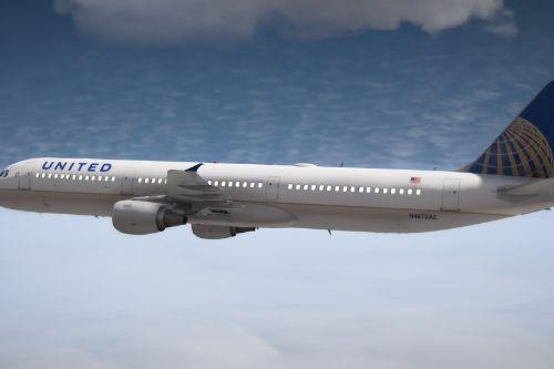United A321-211 [CFM56] Fictional Livery