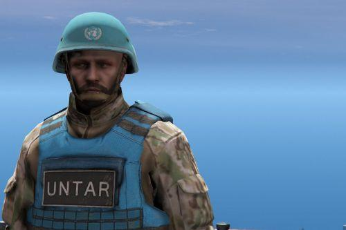 United Nations Helmet