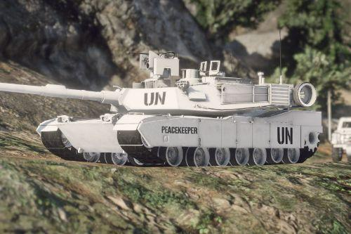 United Nations M1 Abrams