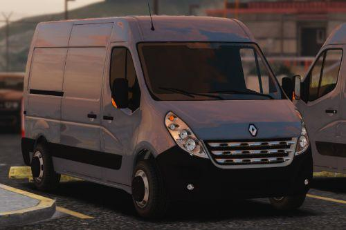 Renault Master 2010 [Replace / Unlocked / Z3D]