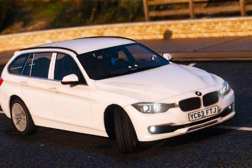 Unmarked 2013 BMW 330d Estate [ELS | Replace]