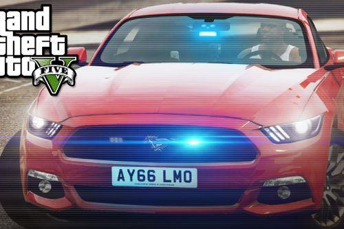 492d37 release ford mustang unmarked