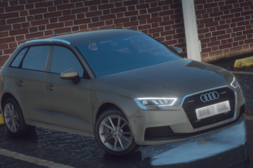 Unmarked Audi A3 ELS