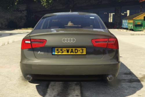 Unmarked Audi A6 Saloon 2013 - Nederlandse Politie [ DUTCH / NL ]