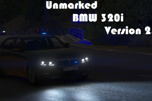 Unmarked BMW 320i [Add-on] [ELS]