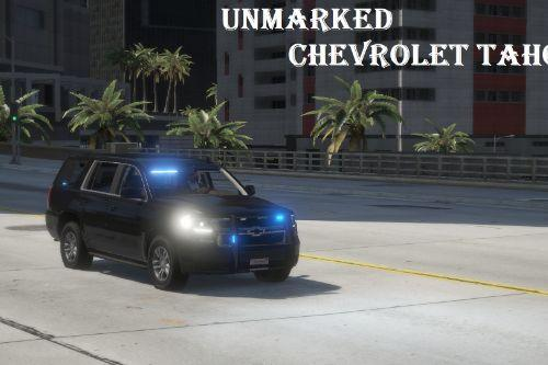 Unmarked Chevrolet Tahoe 2020 [Add-On, ELS]